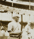 Baseball Collectibles:Photos, 1912 Honus Wagner Original News Photograph by Bain, PSA/DNA Type1....