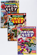 Bronze Age (1970-1979):Superhero, Marvel Premiere #16-25 Iron Fist Group (Marvel,1974-75) Condition: Average NM-.... (Total: 12 Comic Books)