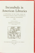 Books:Reference & Bibliography, [Incunabula]. [Bibliography]. Frederick Richmond Goff, editor.Incunabula in American Libraries; a Supplement to the Thi...