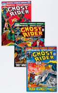 Bronze Age (1970-1979):Superhero, Marvel Spotlight #6-11 Ghost Rider Group (Marvel, 1972-73) Condition: Average NM-.... (Total: 6 Comic Books)