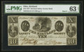 Obsoletes By State:Ohio, Kirtland, OH- The Kirtland Safety Society Bank $10 Mar. 8, 1837 G10Rust 8 Wolka 1424-12. ...