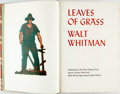 Books:Fine Press & Book Arts, Walt Whitman. Leaves of Grass. Mount Vernon: Peter Pauper Press, [n.d., ca. 1950]. Limited edition. Folio. Edition l...