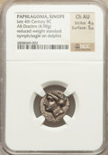 Ancients:Greek, Ancients: PAPHLAGONIA. Sinope. Ca. 330-300 BC. AR drachm (4.98 gm)....