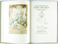 Books:Literature Pre-1900, [John Dryden]. Gwyn Jones, editor. Lavinia Blythe, Illustrator.Songs and Poems of John Dryden. [London:] The G...