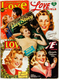 Books:Pulps, [Pulps]. Group of Five Love Themed Pulps. Various publishers,1941-1946. Publisher's printed wrappers. Some rubbing, cre...(Total: 5 Items)