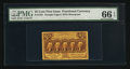 Fractional Currency:First Issue, Fr. 1281 25¢ First Issue PMG Gem Uncirculated 66 EPQ.. ...