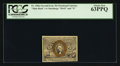 Fractional Currency:Second Issue, Fr. 1286a 25¢ Second Issue Slate Back PCGS Choice New 63PPQ.. ...