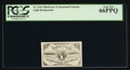 """Fractional Currency:Third Issue, Fr. 1226 'No Pearls"""" 3¢ Third Issue PCGS Gem New 66PPQ.. ..."""