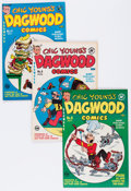 Golden Age (1938-1955):Humor, Dagwood File Copy Short Box Group (Harvey, 1951-64) Condition: Average VF....