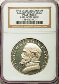 German States:Bavaria, German States: Bavaria. Ludwig III silver Proof Pattern 5 Mark 1913PR63 Cameo NGC,...