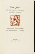 Books:Literature Pre-1900, [Limited Editions Club]. Alexander King, illustrator. SIGNED. HenryFielding. Tom Jones; the History of a Foundling. ...