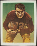 Football Collectibles:Others, Bronko Nagurski Signed Lithograph....
