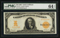 Large Size:Gold Certificates, Fr. 1172 $10 1907 Gold Certificate PMG Choice Uncirculated 64 EPQ.. ...