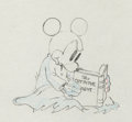 Animation Art:Production Drawing, Mickey Plays Papa Mickey Mouse Production Drawing AnimationArt (Walt Disney, 1934)....