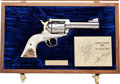 Handguns:Single Action Revolver, Rare Cased Sturm-Ruger Roy Rogers New Model Blackhawk Limited Edition Single Action Revolver by Ronald T. Mahovsky....