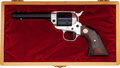 Handguns:Single Action Revolver, Cased Colt 1819-1969 Arkansas Sesquicentennial Scout Single ActionRevolver....