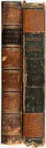 Books:Natural History Books & Prints, [Nicholas Culpepper]. Two Separate Editions of Culpepper's Complete Herbal. London: Richard Evans, Tomas Kelly, 1815... (Total: 2 Items)