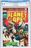 Bronze Age (1970-1979):Miscellaneous, Adventures on the Planet of the Apes #1 (Marvel, 1975) CGC NM 9.4Off-white to white pages....