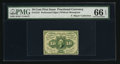 Fractional Currency:First Issue, Fr. 1241 10¢ First Issue PMG Gem Uncirculated 66 EPQ.. ...