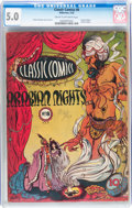 Golden Age (1938-1955):Classics Illustrated, Classic Comics #8 Arabian Knights - First Edition (Gilberton, 1943)CGC VG/FN 5.0 Cream to off-white pages....