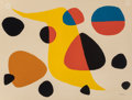 Fine Art - Work on Paper:Print, ALEXANDER CALDER (American, 1898-1976). Untitled. Lithographin colors on Arches paper. 19-3/4 x 25-5/8 inches (50.2 x 6...