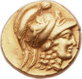 Ancients:Greek, Ancients: MACEDONIAN KINGDOM. Alexander III the Great (336-323 BC). AV stater (18mm, 8.57 gm, 5h).  ...