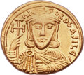Ancients:Byzantine, Ancients: Nicephorus I (AD 802-811). AV solidus (21mm, 4.45 gm,6h). ...