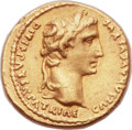 Ancients:Roman Imperial, Ancients: Augustus (27 BC-AD 14). AV aureus (20mm, 7.89 gm, 10h).  ...