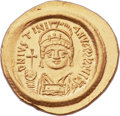 Ancients:Byzantine, Ancients: Justinian I the Great (AD 527-565). AV solidus (22mm,4.51 gm, 6h)....