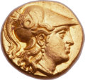 Ancients:Greek, Ancients: MACEDONIAN KINGDOM. Alexander III the Great (336-323 BC). AV stater (17mm, 8.55 gm, 7h)....