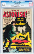 Silver Age (1956-1969):Science Fiction, Tales to Astonish #2 (Marvel, 1959) CGC FN 6.0 Off-white to whitepages....