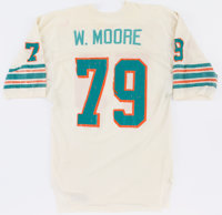 1979 Wayne Moore Game Worn Miami Dolphins Jersey