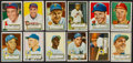 Baseball Cards:Sets, 1952 Topps Baseball Middle Series (#'s 81-250) Near Run (169/170). ...