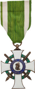 Militaria:Insignia, Saxon Order of Albert with Swords, Knight First Class....