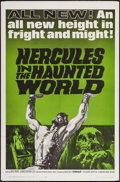 "Movie Posters:Adventure, Hercules in the Haunted World & Other Lot (Woolner Brothers,1964). One Sheets (2) (27"" X 41""). Adventure.. ... (Total: 2 Items)"