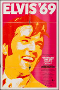 "Movie Posters:Elvis Presley, The Trouble with Girls (MGM, 1969). One Sheet (27"" X 41""). ElvisPresley.. ..."
