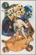 """Movie Posters:Science Fiction, Star Wars: The First Ten Years (Kilian Enterprises, 1987).Autographed & Numbered Limited Edition One Sheet (27"""" X 41"""").Sci..."""