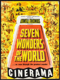 """Movie Posters:Documentary, Seven Wonders of the World (Cinerama Releasing, 1956). Program (24 Pages, 9"""" X 12""""). Documentary.. ..."""