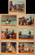 "Movie Posters:Western, Cheyenne Autumn (Warner Brothers, 1964). Lobby Cards (7) (11"" X14""). Western.. ... (Total: 7 Items)"