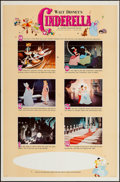 """Movie Posters:Animation, Cinderella & Other Lot (Buena Vista, R-1965). One Sheets (2) (27"""" X 41"""") Style B & Regular. Animation.. ... (Total: 2 Items)"""