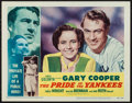 """Movie Posters:Sports, The Pride of the Yankees (RKO, R-1949). Lobby Card (11"""" X 14""""). Sports.. ..."""
