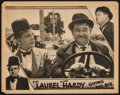 "Movie Posters:Comedy, Going Bye-Bye (MGM, 1934). Lobby Card (11"" X 14""). Comedy.. ..."