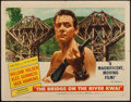 """Movie Posters:War, The Bridge on the River Kwai (Columbia, 1958). Half Sheet (22"""" X28"""") Style A. War.. ..."""