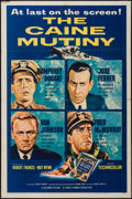 "Movie Posters:War, The Caine Mutiny (Columbia, 1954). One Sheet (27"" X 41""). War.. ..."
