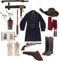 Superb Civil War Uniform & Colt Dragoon Grouping of Major Edward M. Mobley 7th Maryland Infantry
