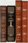 Books:Literature Pre-1900, [Literature]. Daniel DeFoe, Robert Penn Warren and Others. Group ofFour Franklin Library and Easton Press Titles. Various p... (Total:4 Items)