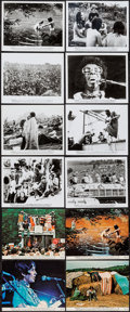 "Movie Posters:Rock and Roll, Woodstock (Warner Brothers, 1970). Mini Lobby Cards (4) (8"" X 10"")& Trimmed Photos (7), Photos (20) (approx. 8"" X 10"" &app... (Total: 31 Items)"