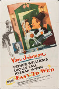 """Movie Posters:Musical, Easy To Wed (MGM, 1946). One Sheet (27"""" X 41""""). Musical.. ..."""