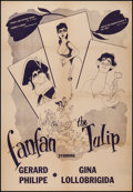 """Movie Posters:Foreign, Fan Fan the Tulip (Lopert, 1953). One Sheet (28"""" X 40.75""""). Foreign.. ..."""