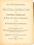 Books:Reference & Bibliography, Robert Bradbury. An Encyclopædia of Practical Information andUniversal Formulary, et al. Chicago: T...